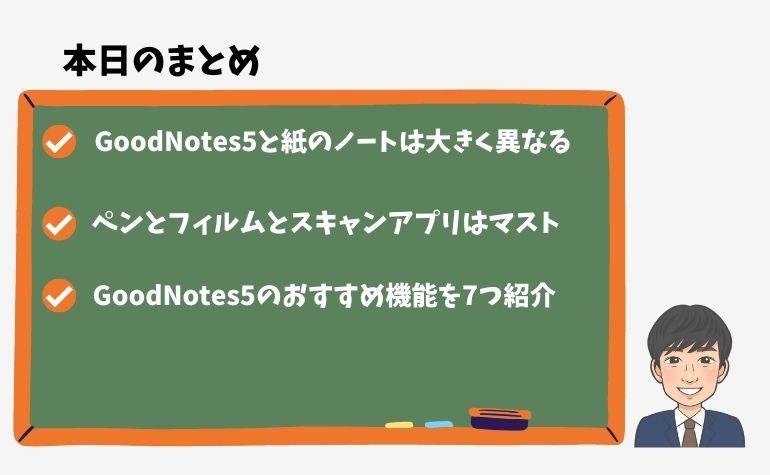 GoodNotes5(グッドノート)が勉強するのに最高なワケとおすすめ機能7選のまとめ